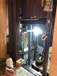 Y様邸エレベーター設置完了しました。